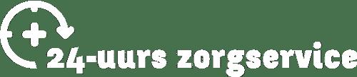 24-uurs zorgservice logo wit